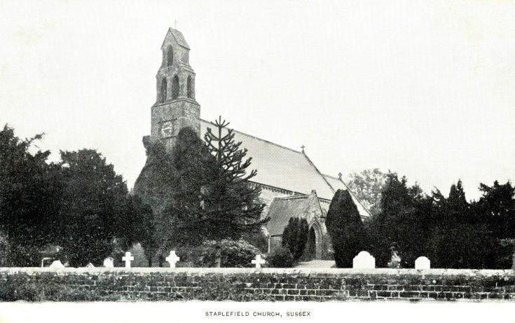 St Mark's church, Staplefield