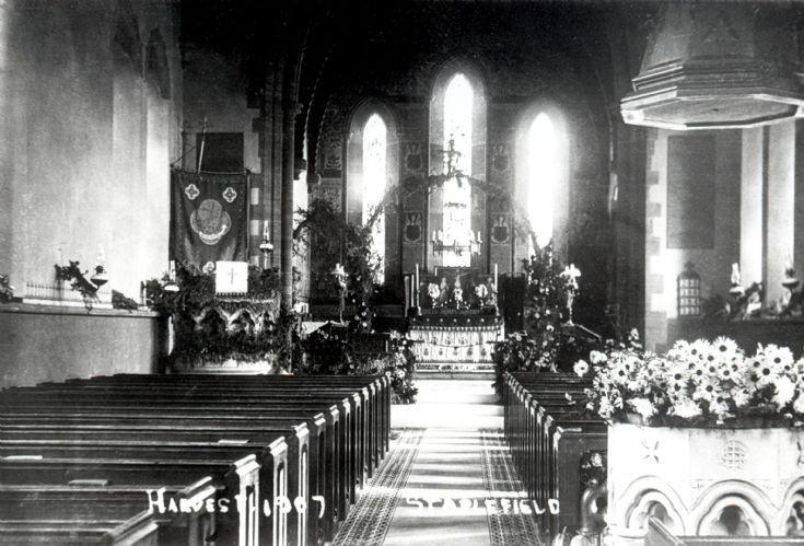 Harvest Festival at St Mark's church, Staplefield