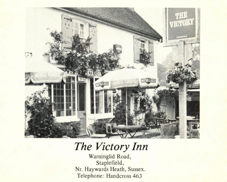 The Victory, Staplefield