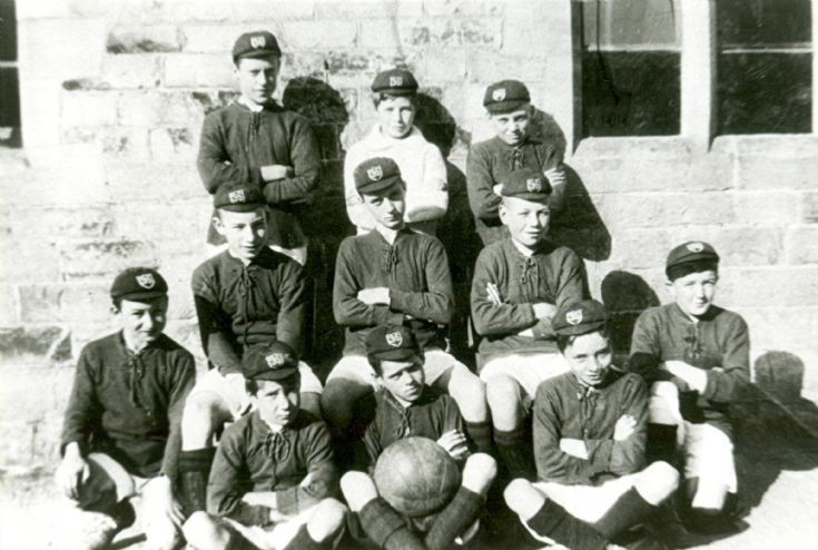 Staplefield school football team