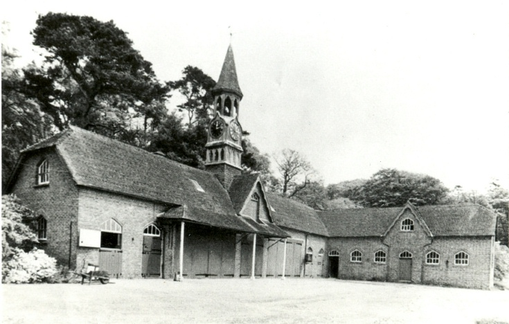 The coach houses at High Beeches