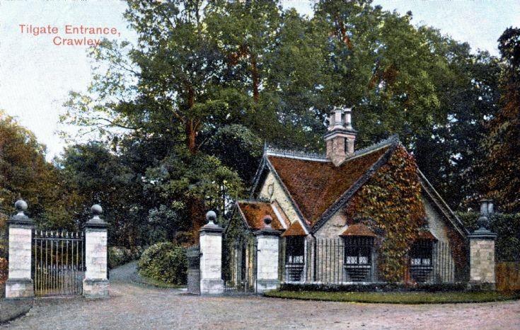 Tilgate lodge on Pease Pottage hill