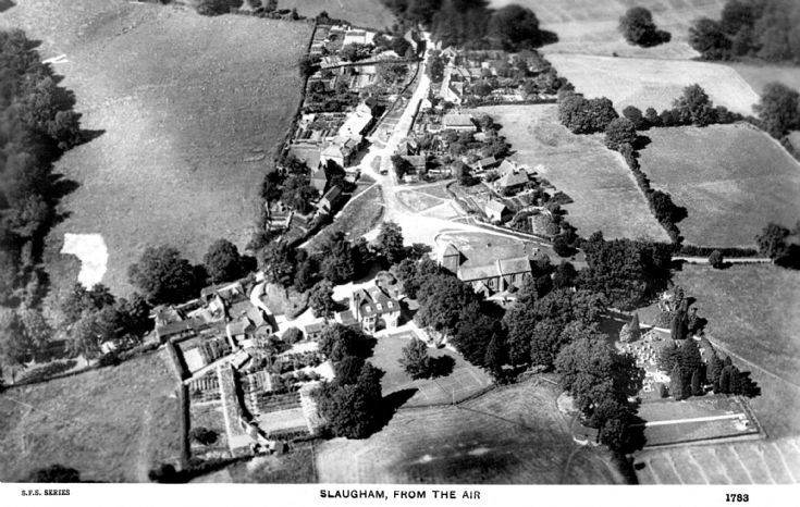Aerial view of Slaugham