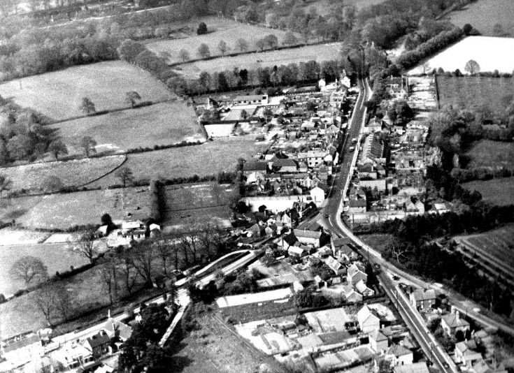 Aerial photo Handcross 1937