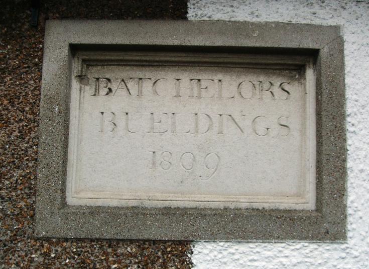Batchelors Buildings sign