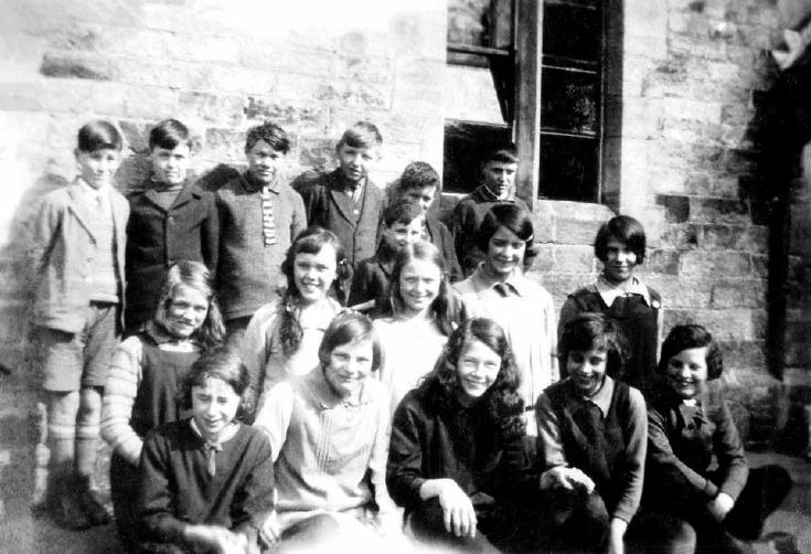 Staplefield school around 1930
