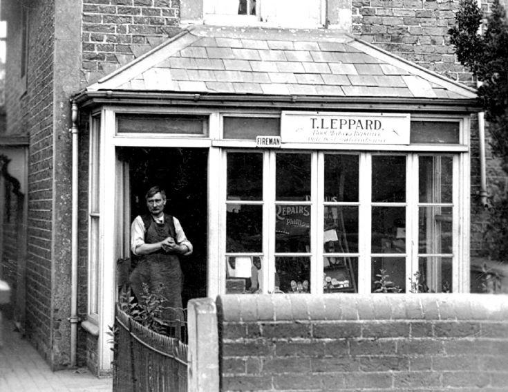 Cobblers shop in Handcross High Street