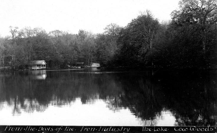 The lake at Nymans