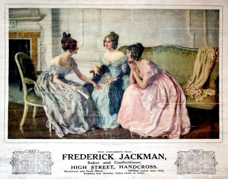 Fred Jackman's calendar