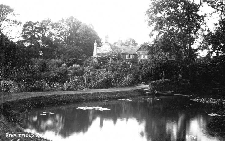 Pond at Staplefield Grange