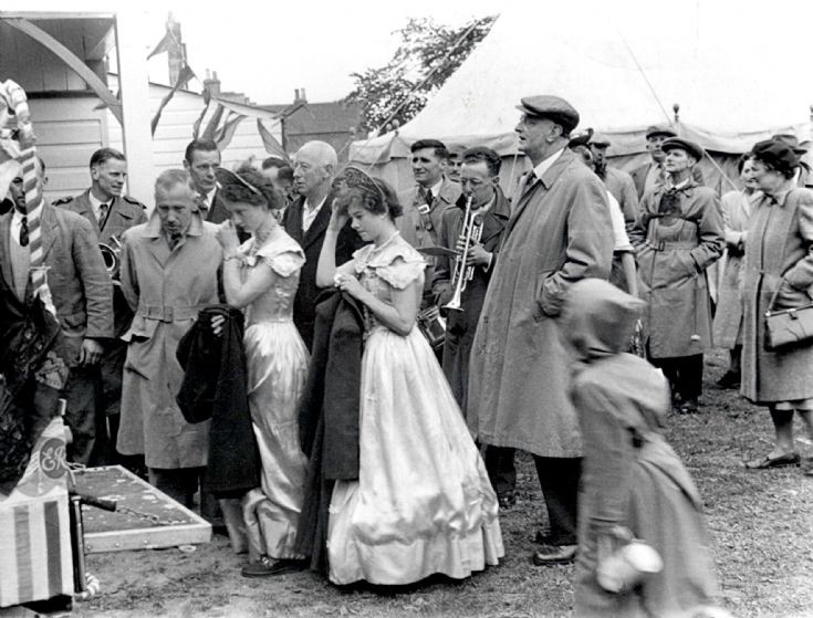 Coronation of Queen Elizabeth celebration