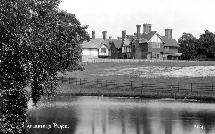 The pond at Staplefield Place
