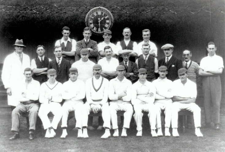 Hyde cricket team