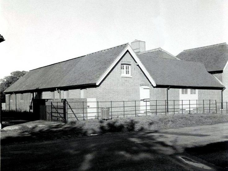 Home Farm, Warninglid, buildings demolished