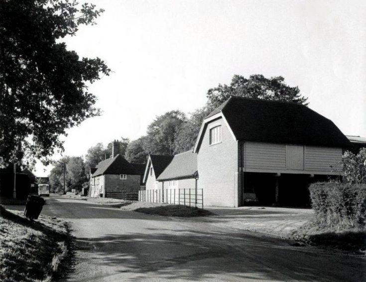 Home Farm, Warninglid, buildings demolished