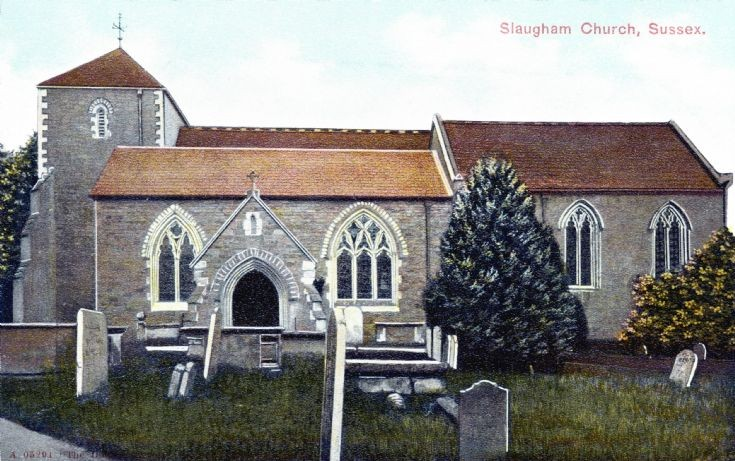 Son et lumière in Slaugham churchyard