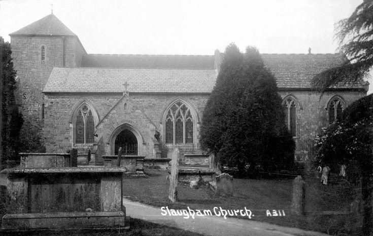 Slaugham churchyard