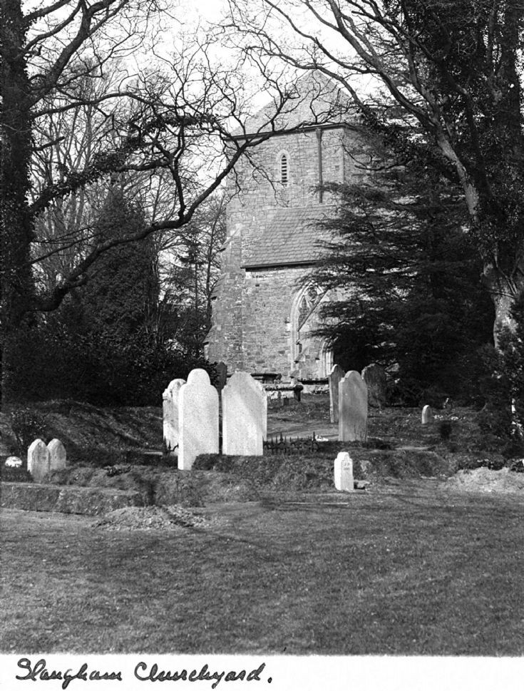 Immaculate Slaugham churchyard