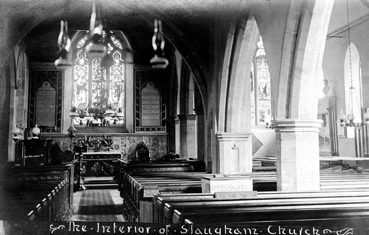 Interior of Slaugham church