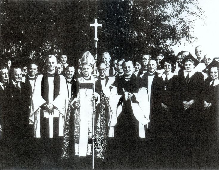 Induction of Rev. E. Bradbrooke at Slaugham church