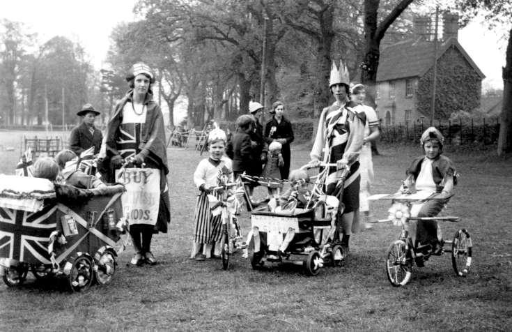 Coronation of George VI at Handcross