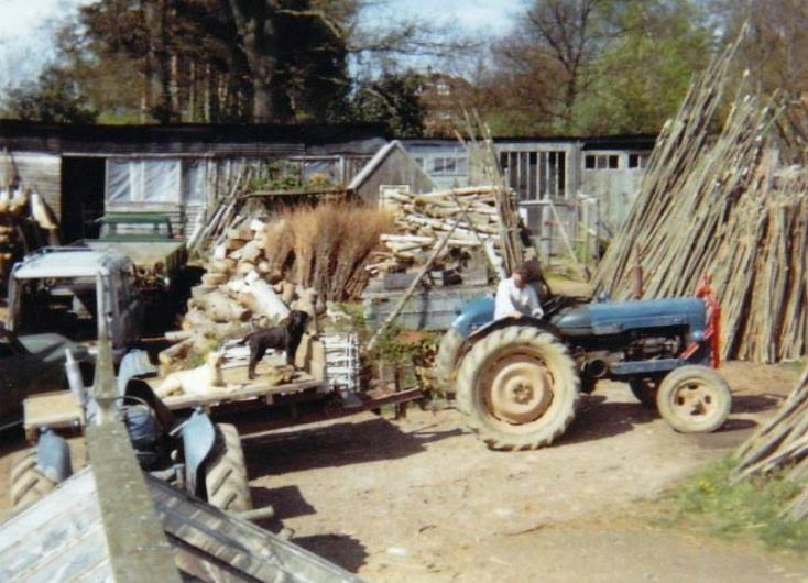Michael Kinnard on Fordson Major Tractor