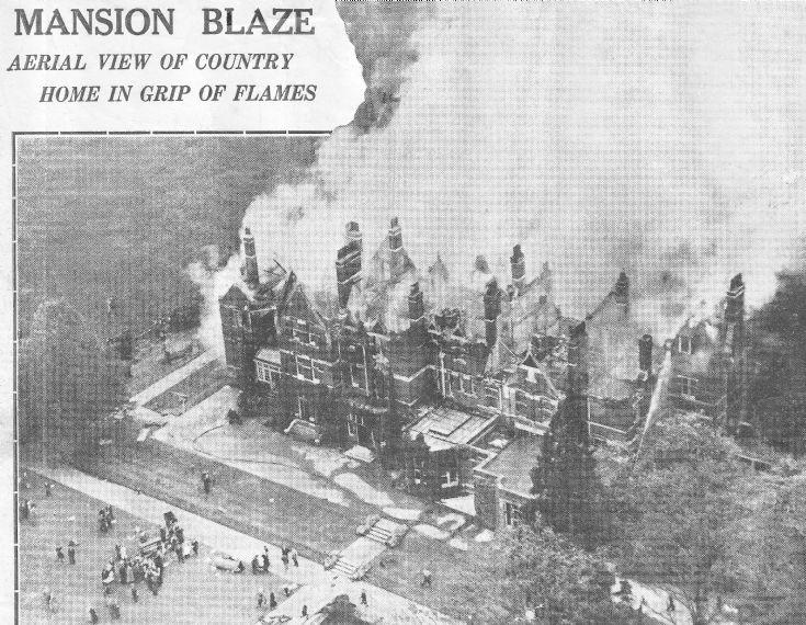 Handcross Park ablaze