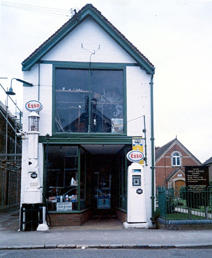 The garage in Handcross