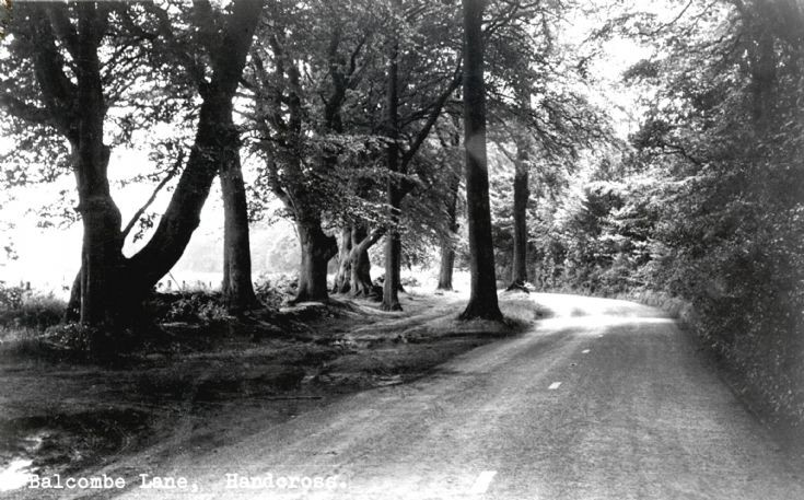 Balcombe Lane towards Handcross