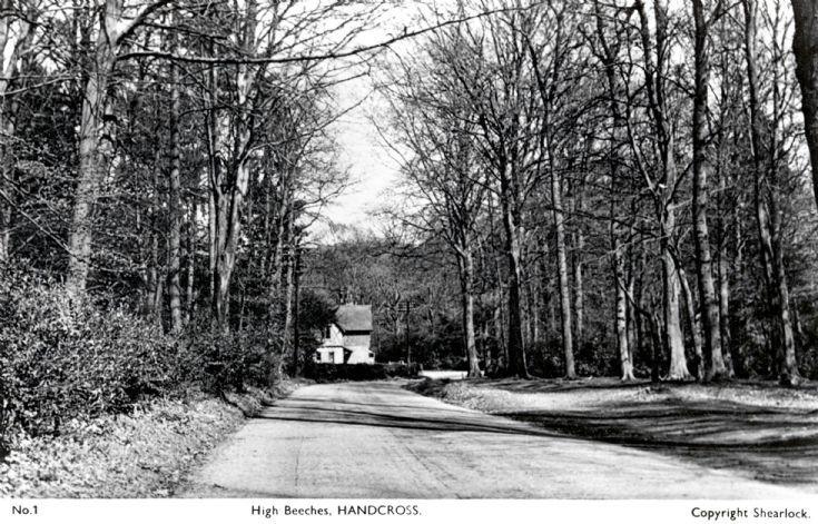 Balcombe Lane approach East Lodge