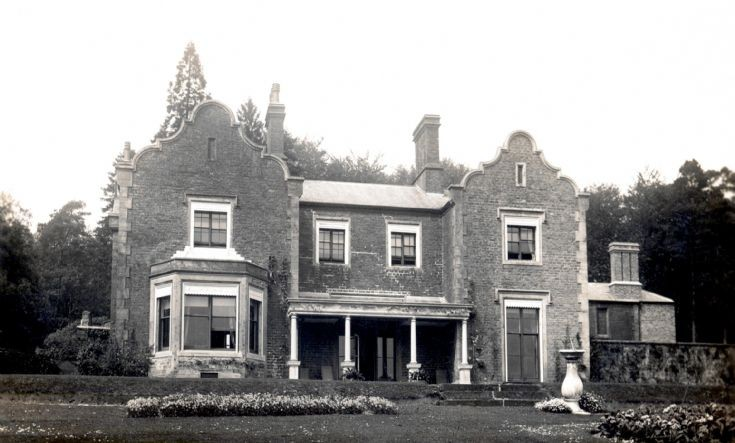 Dencombe House and sundial