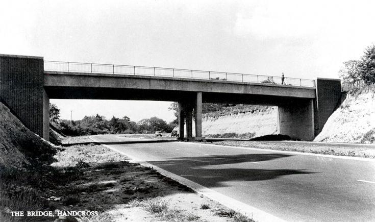 The bridge in Handcross
