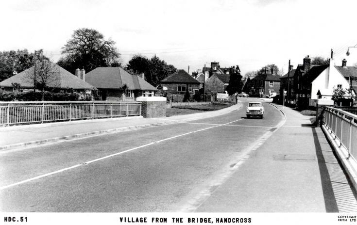 The bridge at Handcross