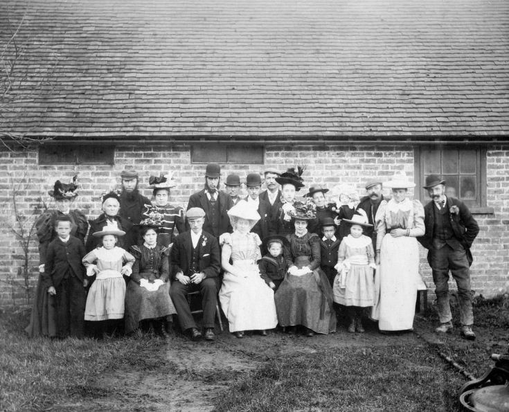 Wedding of George Tomsett and Ann Newman