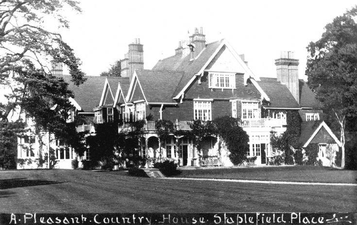 The original Staplefield Place
