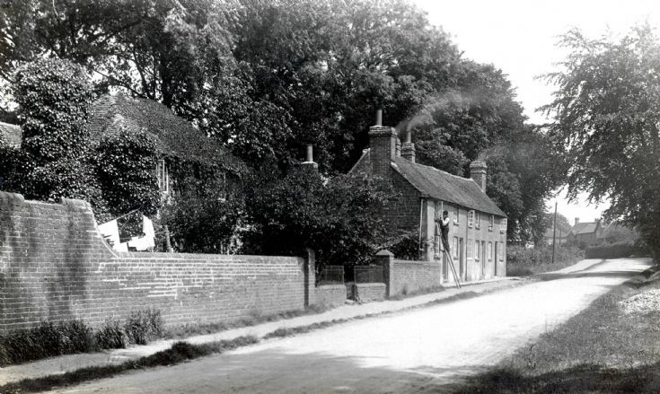 Rabbit Hutches in the Horsham Road