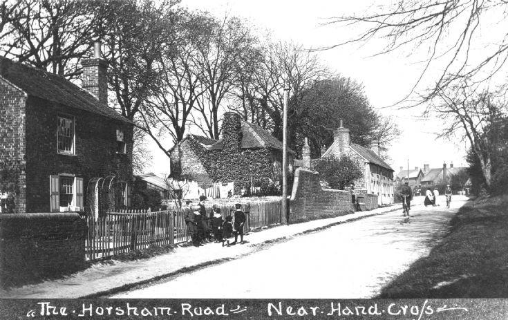 Gang of boys in Horsham Road