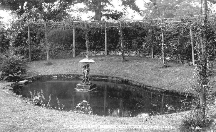 Garden at Brook Cottage, Slaugham