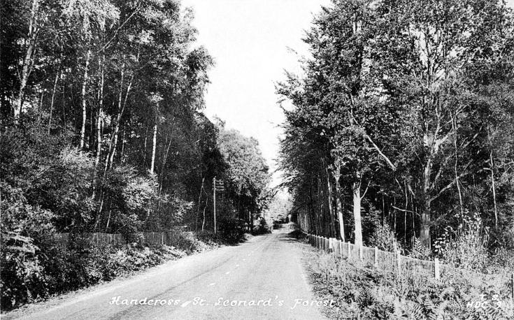 Horsham Road, Handcross and St Leonards Forest