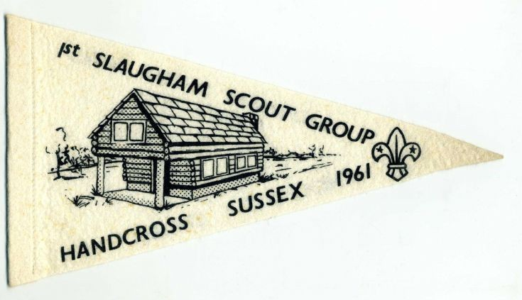 The Scouts log cabin at the Hyde, Handcross