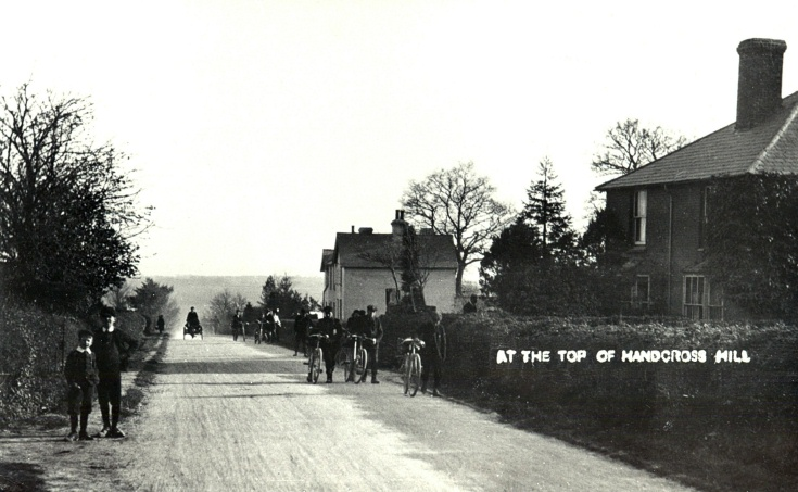 Cyclists in Brighton Road