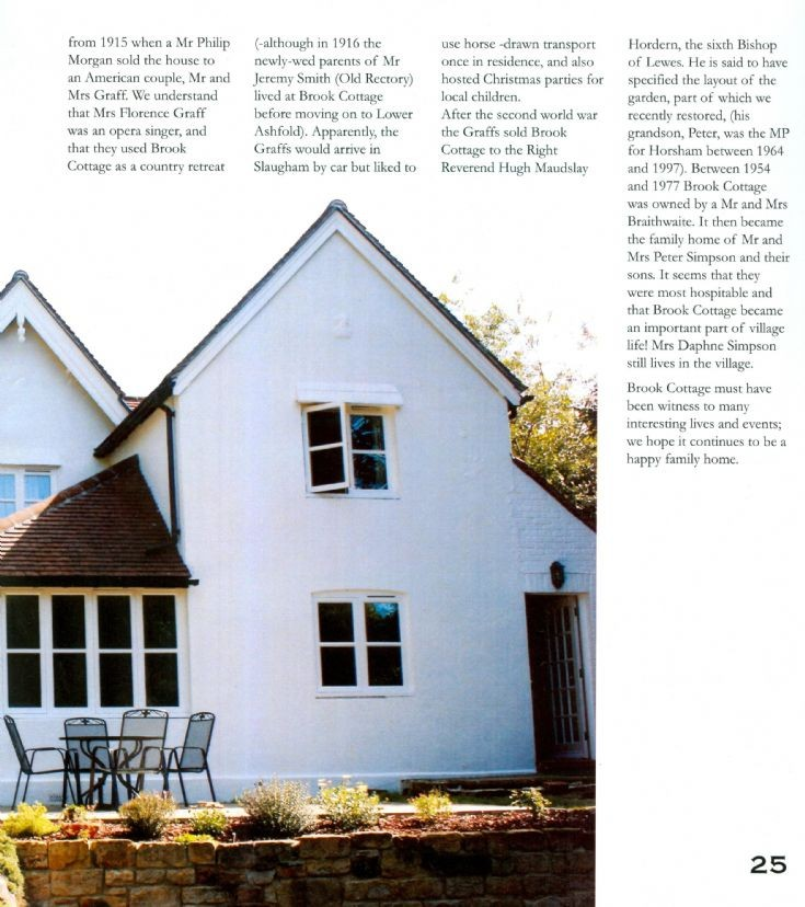 Brook Cottage, Slaugham