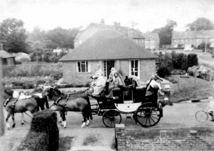 Stagecoach in Horsham Road, Pease Pottage