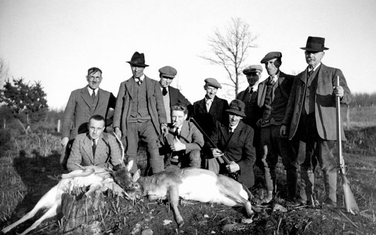 Deer hunt in Pease Pottage