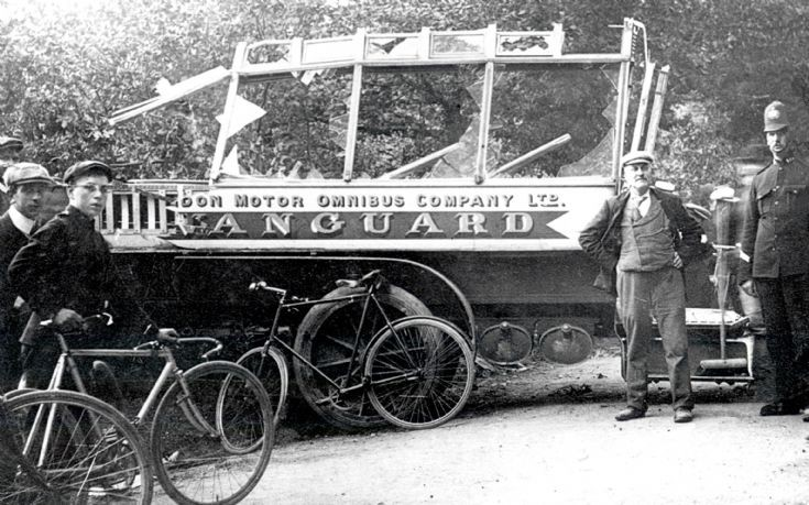 Vanguard accident - Policeman