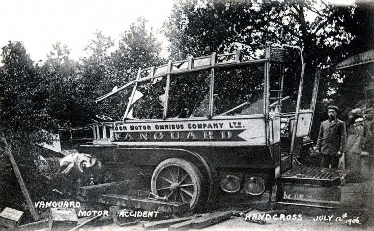 Vanguard accident - Timber and car jacks