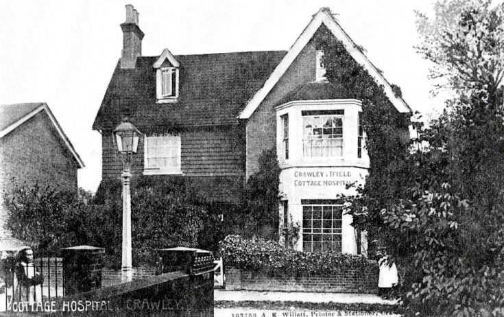 Vanguard accident - Crawley Cottage Hospital