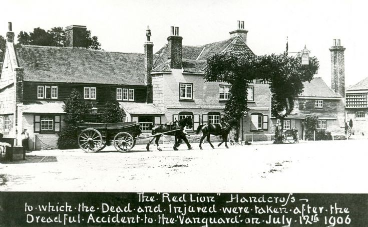 Vanguard accident - The Red Lion