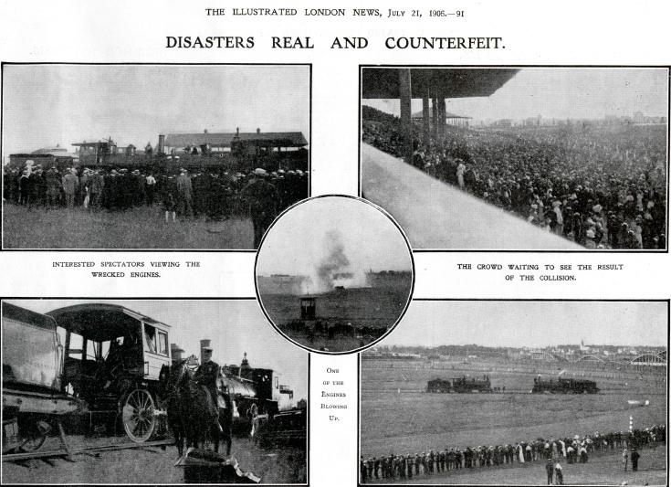 Vanguard accident - Illustrated London News