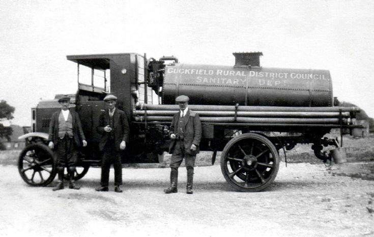 Sewage lorry